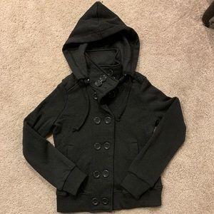 Ambiance Grey Sweater Jacket